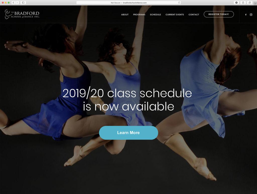 www.bradfordschoolofdance.com
